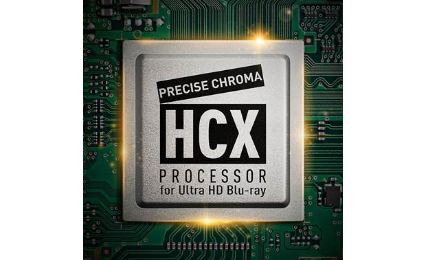 Panasonic DP-UB420 Panasonic's HCX (Hollywood Cinema Experience) processor delivers precise HDR and color processing for stunning color and detail in all your 4K/HDR content