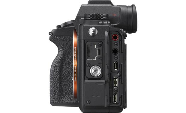 Sony Alpha a9 II (no lens included) Right side connections