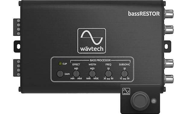 Wāvtech bassRESTOR bass restoration processor and remote