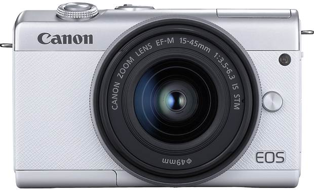 Canon EOS M200 Kit Front, straight-on