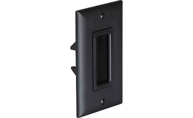 On-Q In-wall Cable Access Port Angled view