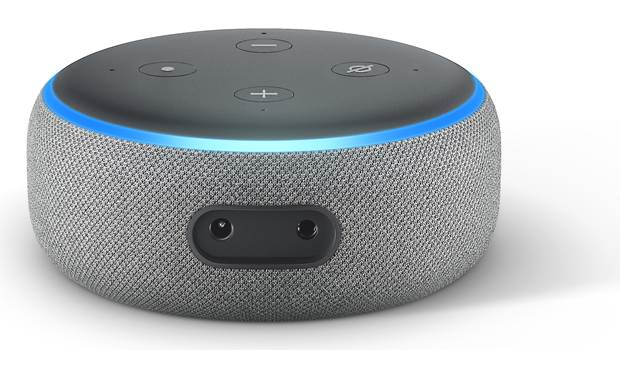Amazon Echo Dot (3rd Gen, Version 2) Back
