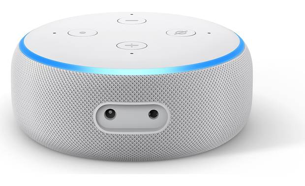 Amazon Echo Dot with Clock  (3rd Gen) Back