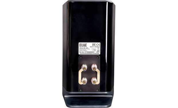 ELAC VELA BS 403 Dual sets of binding posts allow bi-amping or bi-wiring