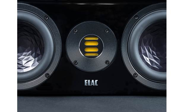 ELAC VELA CC 401 Close-up view of JET 5 folded ribbon tweeter