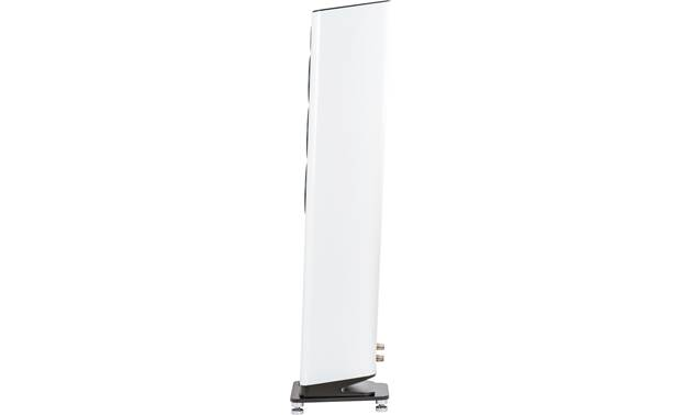 ELAC VELA FS 409 Angled cabinet improves high-frequency distribution and stereo imaging