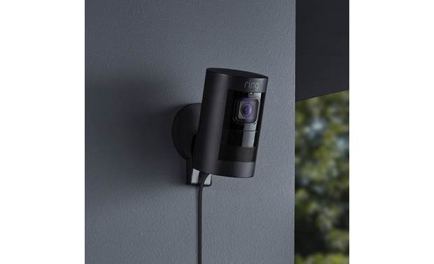 Ring Stick Up Cam Wired Weather-resistant for outdoor use