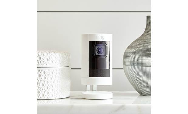 Ring Stick Up Cam Battery Can be free-standing or wall-mounted