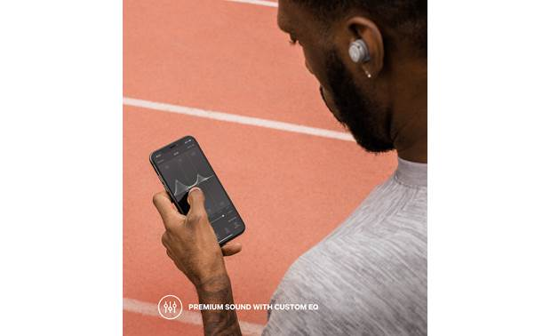 Jaybird RUN XT Free, downloadable Jaybird app lets you customize the sound and find lost earbuds (phone not included)