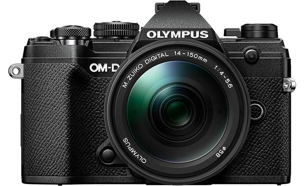 Olympus OM-D E-M5 Mark III Kit Front, straight-on
