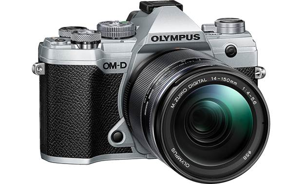 Olympus OM-D E-M5 Mark III Kit Angled front view