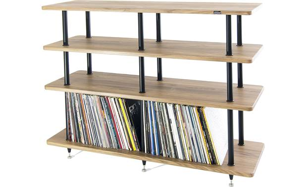 Solidsteel VL-4 Bottom shelf designed to store vinyl LPs (not included)
