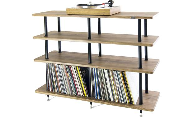Solidsteel VL-4 Vibration-resistant rack ideal for high-performance gear (turntable and LPs not included)