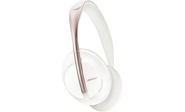 Bose Noise Cancelling Headphones 700 Special limited-batch design features a vivid white color scheme punctuated with metallic rose accents