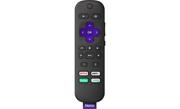 "Roku Ultra 4670R (2019 model) Enhanced ""point anywhere"" remote with voice search and headphone jack"
