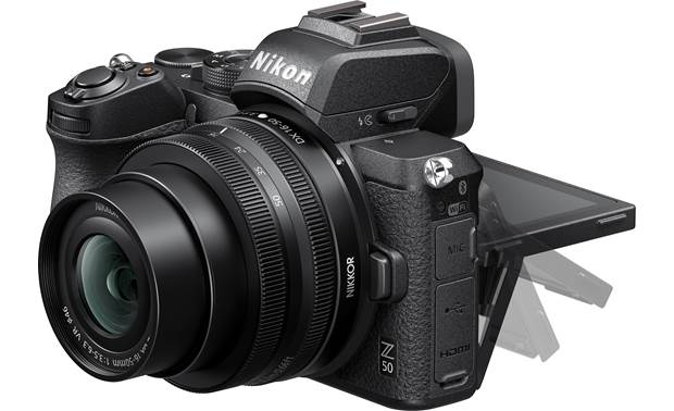 Nikon Z 50 Kit Tilting touchscreen helps you compose shots from different angles