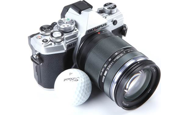 Olympus OM-D E-M5 Mark III Kit This camera and lens kit gives you a 28-300mm equivalent focal range in an incredibly compact package