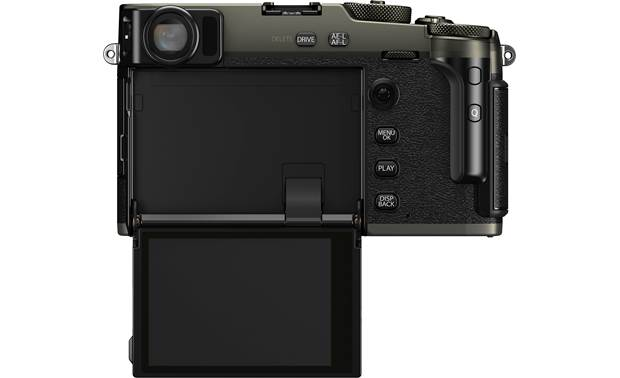 Fujifilm X-Pro3 Mirrorless Camera (no lens included) Shown with hidden LCD touchscreen flipped down
