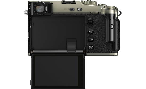 Fujifilm X-Pro3 Mirrorless Camera (no lens included) Shown with hidden touchscreen flipped down