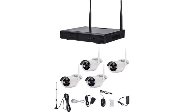 Metra Spyclops SPY-NVR4720WB Wireless Camera System Front
