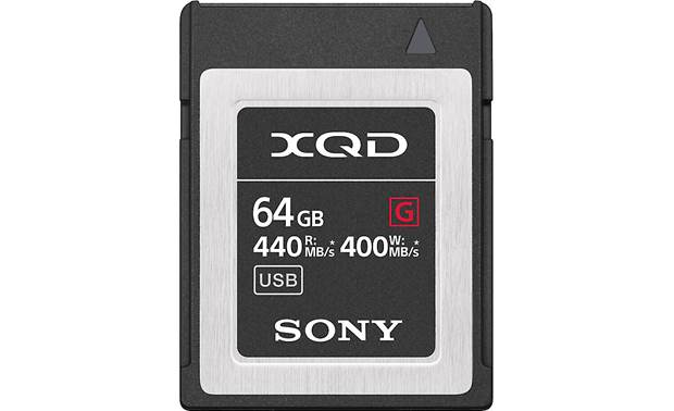 Sony XQD Memory Card Front