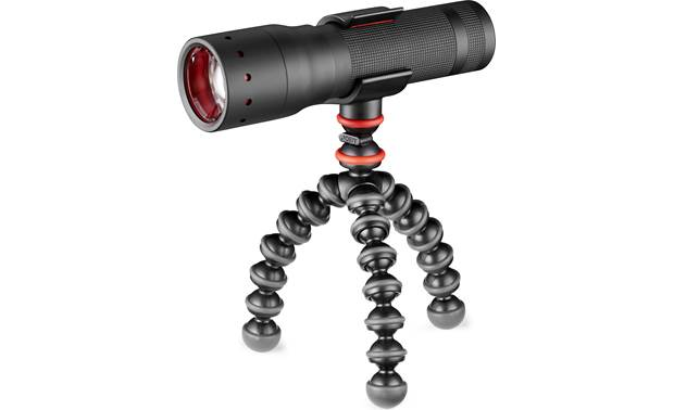 Joby® GorillaPod® Starter Kit Torch lights fit snugly