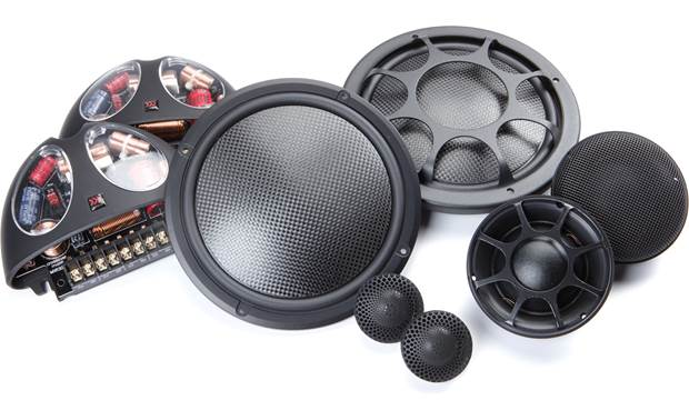 Morel Virtus Nano 603 Carbon The damped sandwich hybrid carbon fiber and foam core dome woofer helps achieve a widely dispersed sound