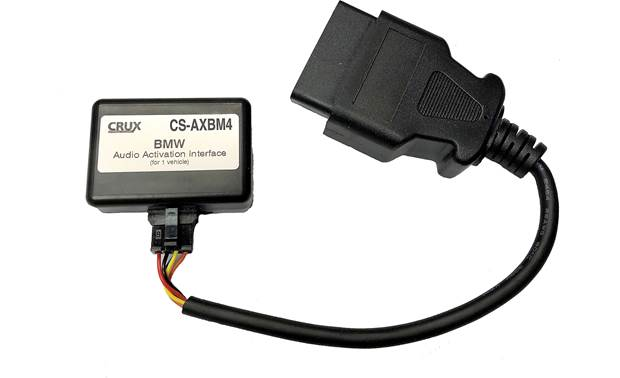 Crux CS-AXBM4 Auxiliary Input Adapter for BMW Front