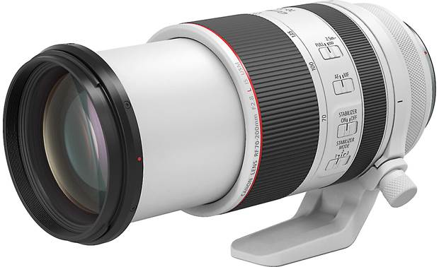 Canon RF 70-200mm f/2.8L IS USM Shown with lens barrel extended