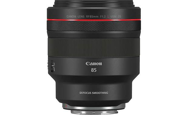 Canon RF 85mm f/1.2 L USM DS Shown with lens hood removed