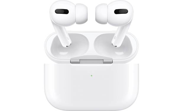 Apple AirPods Pro with Wireless Charging Case Shown with included wireless charging case