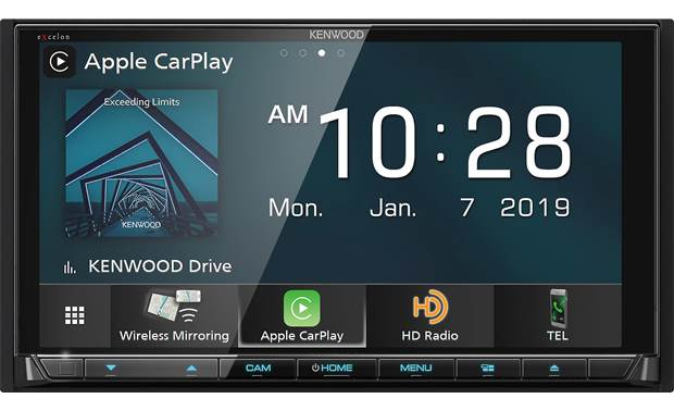 Kenwood Excelon DDX9906XR This Kenwood offers lots of ways to get your phone involved without plugging in