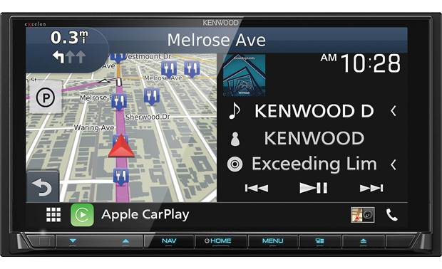 Kenwood Excelon DNX996XR Front