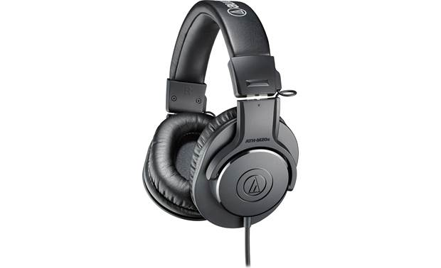 Audio-Technica AT2020USB+PK Audio-Technica's ATH-M20x headphones are included