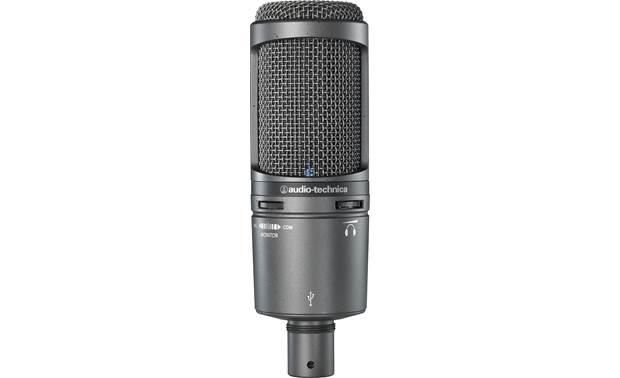 Audio-Technica AT2020USB+PK USB mic connects directly to your computer