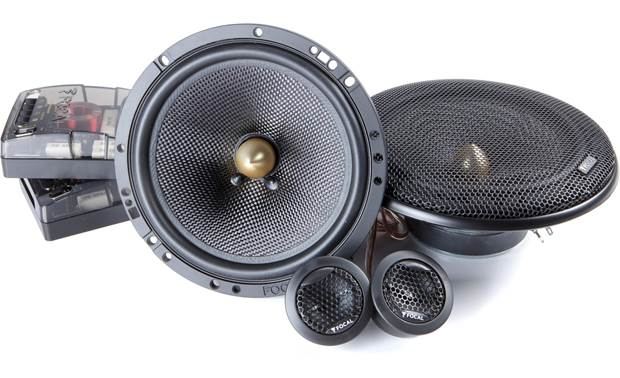 Focal Access 165 YE Focal's external crossovers allow more power to the tweeters for impactful highs