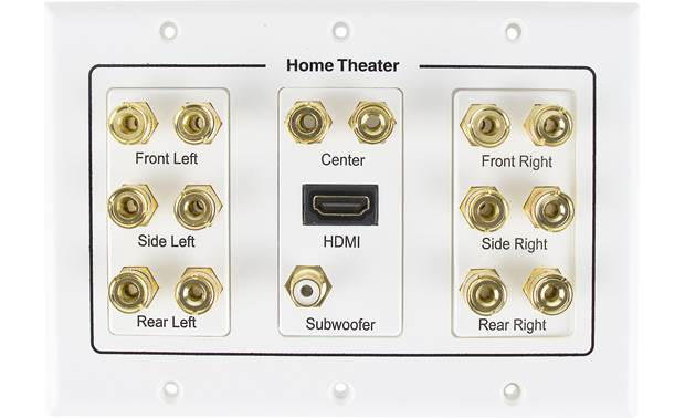 Metra Ethereal 7.1 Home Theater Wall Plate