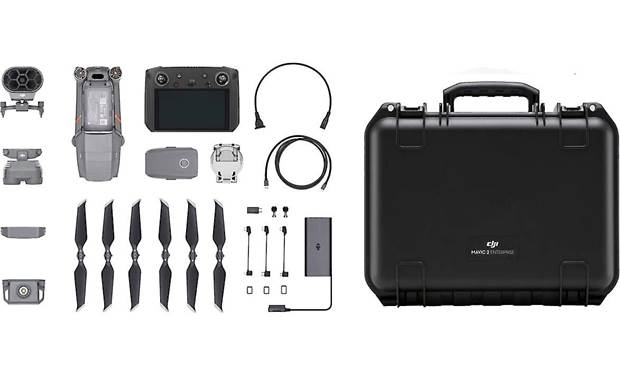 DJI Mavic 2 Enterprise Dual with Smart Controller and Enterprise Shield Basic Front