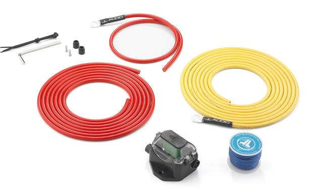 JL Audio XMD-PCS30A-1-L12 9-gauge marine amplifier power wiring kit — 12  feet at CrutchfieldCrutchfield