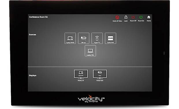 Atlona VTP-800 On-screen control of source selection and display parameters