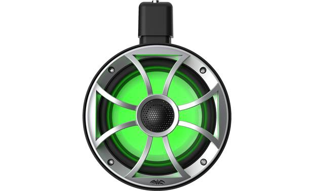 wet sounds A Pair of Black Recon 6 POD-B 6.5 Inch Tower Speakers /& MB Quart NA2-400.2 Amplifier