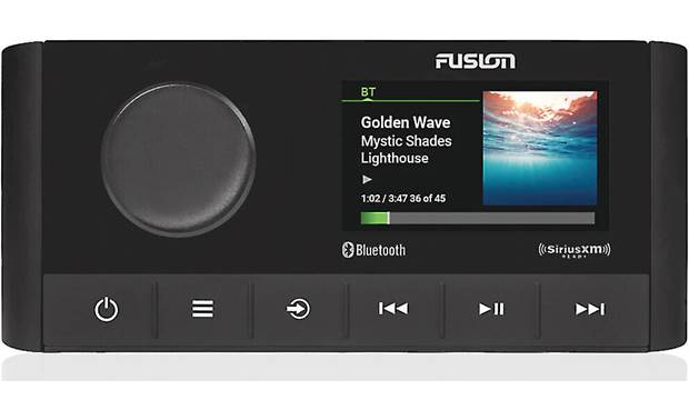 Fusion MS-RA210 Control two zones in your boat and so much more