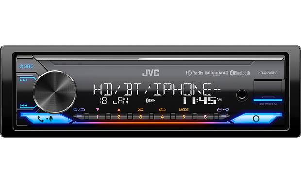 JVC KD-X470BHS Built-in Amazon Alexa expands an already awesome set of features