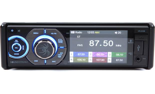 Soundstream VR-345B Front