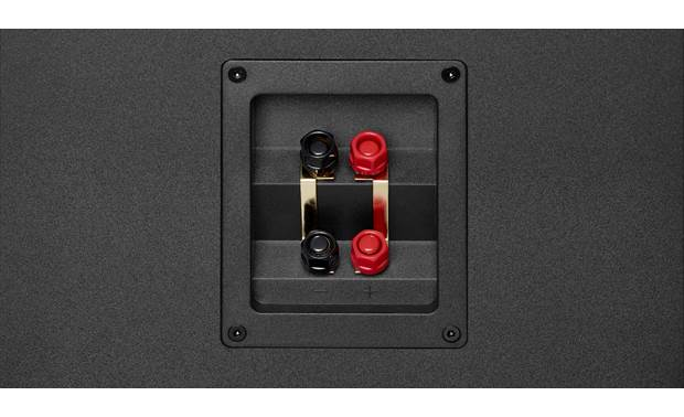 JBL Stage A190 Two sets of binding post speaker terminals allow for bi-amping or bi-wiring