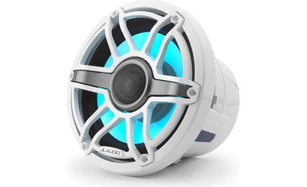 JL Audio M6-880X-S-GwGw-i marine speakers with LED lighting