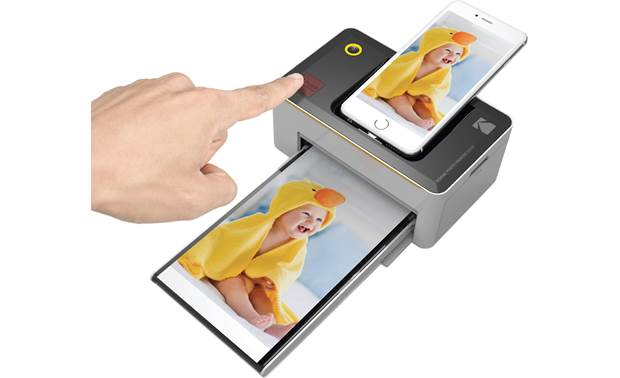 Kodak Photo Printer Dock One-Touch button for instant prints