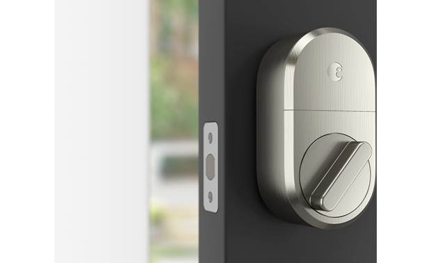 August Smart Lock + Connect Know when your door is open or closed with DoorSense technology
