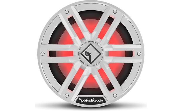 Rockford Fosgate M2D2-10l Big bass and cool lighting