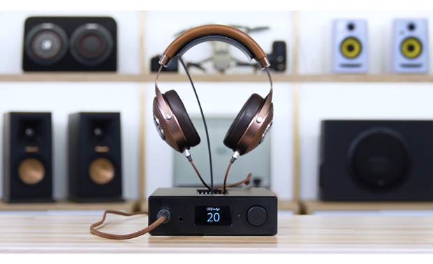 Headphone Stand with Shelf for AmpDac Mini Music Station